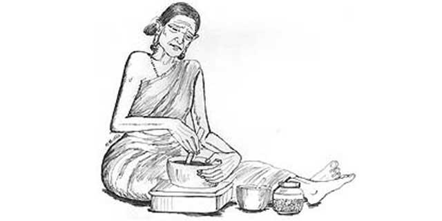பாட்டி, பாட்டி வைத்தியம், தினமும், துளசி, காரட், தக்காளி, carrot, thulasi, Mint, home medicines, nature Medicines, medicines in food,