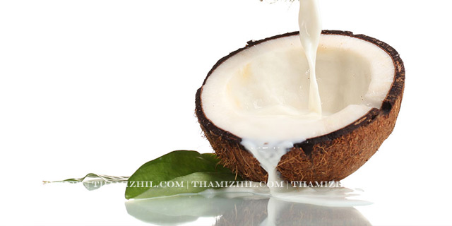 """Coconut Milk"", ""Thengai paal"", ""Hair Growth"""